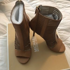 Michael Kors Odelia Booties in original box
